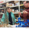 Sculpture professor shows students the 'broader picture'