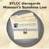 STLCC disregards Missouri's Sunshine Law