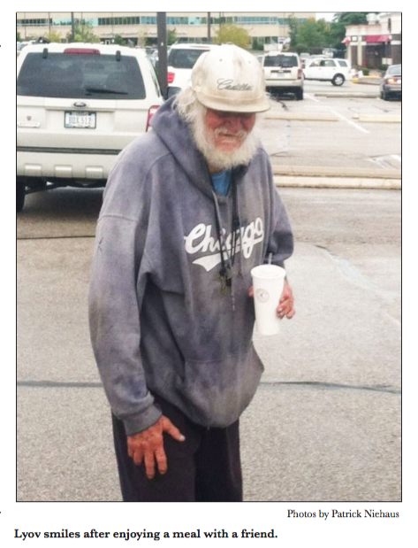 Homeless Meramec man